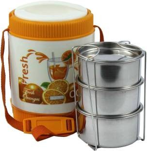 Bonjour buffet tiffin 3 Containers Lunch Box(