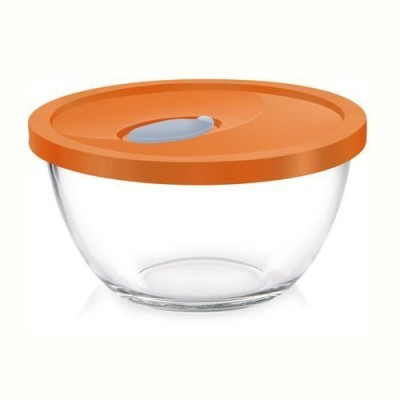 Borosil Mixing Bowl 0.9L With Plastic Lid