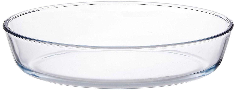 Borosil Oval Baking Dish, 2.2 Litres,