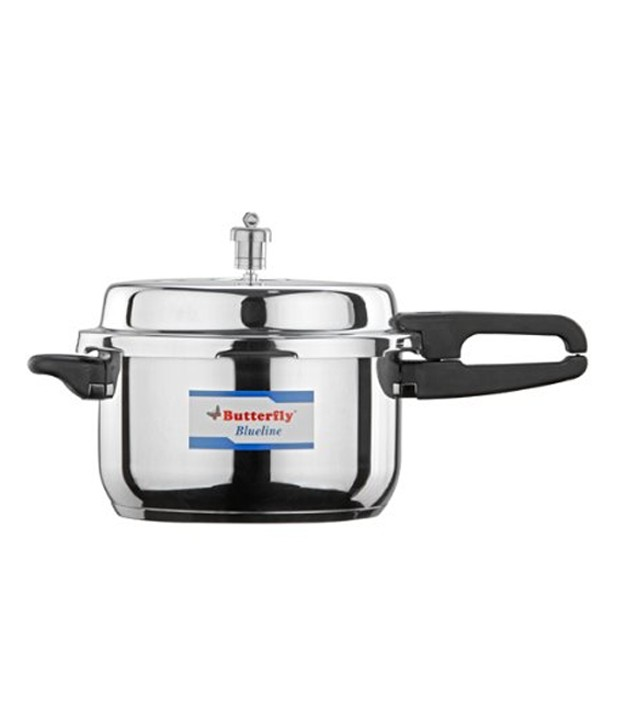 Butterfly Blueline S.steel Induction Based Pressure Cooker - 5 Ltrs