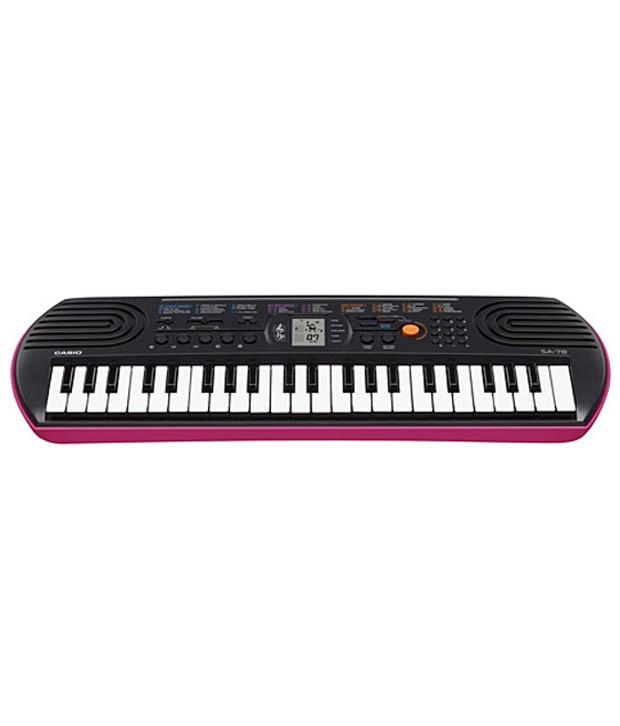 CASIO SA78 44-Keys Portable Keyboard