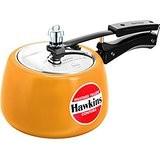 Hawkins Contura Ceramic Coated Mustard Yellow Pressure Cooker 3Liter (CMY30 )