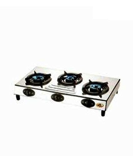 Bajaj Cooktop CX9 SS 3 Burner