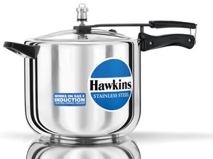 Hawkins Stainless Steel Cooker D40 10 Ltr
