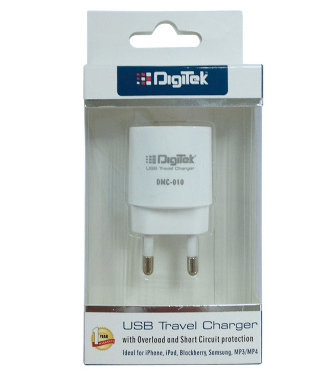 Digitek USB Travel Charger 1A DMC 010