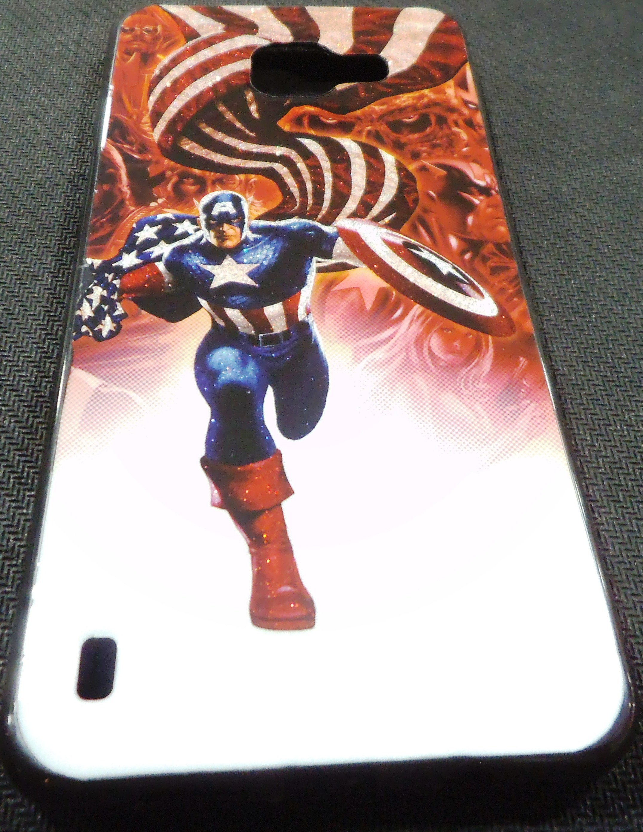 Samsung Galaxy A5 2016 Back Cover (Avenger)
