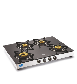 Glen 4 Burner Glass Top Cooktop GL 1048 GT