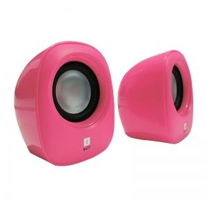 iBall Sound Wave2 Computer Multimedia Speaker 2.0 Pink