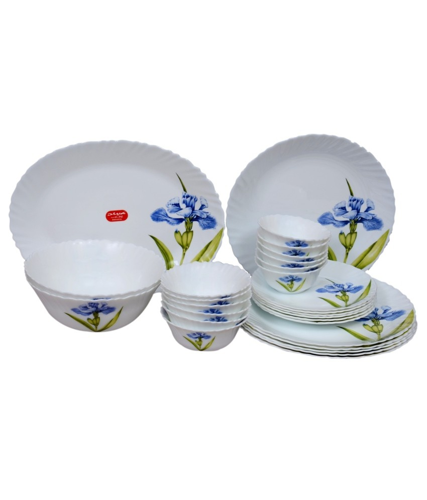 LaOpala Royal Iris Dinner Set (Set of 27)