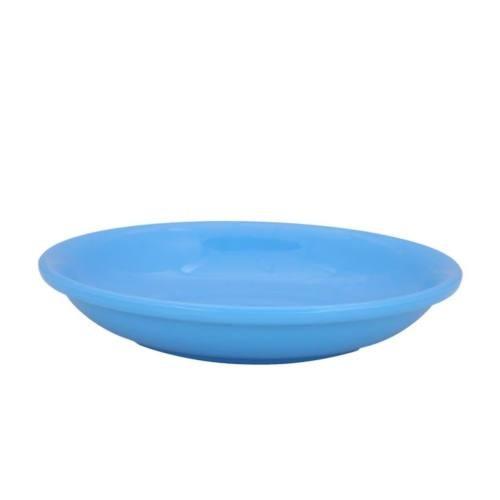 MILTON MELAMINE DAHI VADA PLATE BLUE 6'