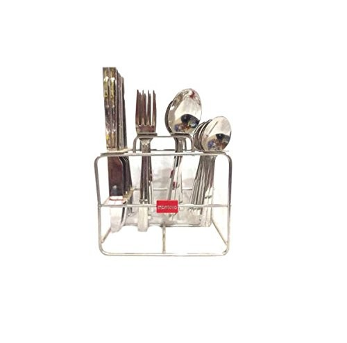 Montavo Trendz Cutlery Set with Baby Spoon, 24-Pieces