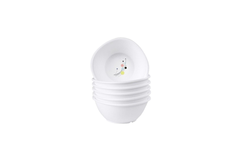 Signoraware Design-6 Junior Katori Set, Set of 6, White P6274