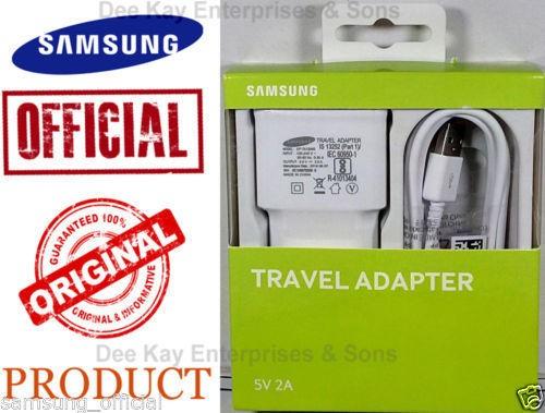 100%Original Samsung EP-TA13IWEUGIN 2Amp USB Wall Charger