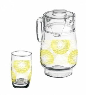 Roxx Abstract  Lemon Set 7Pcs