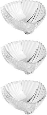 Roxx Bliss 3 Pcs Bowl Set Glass Bowl Set