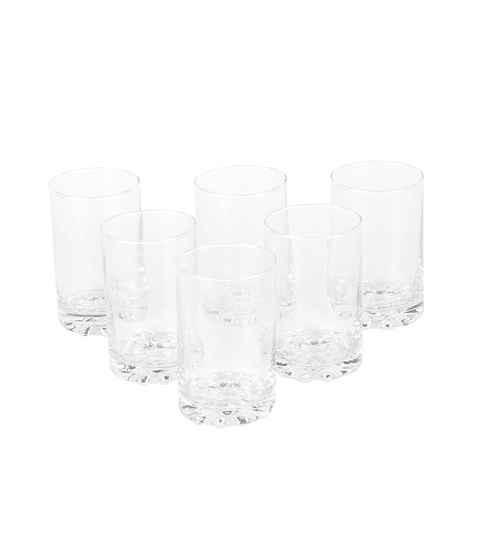 Roxx Cosmo Hb Glass 215 ML Tumblers - Set of 6