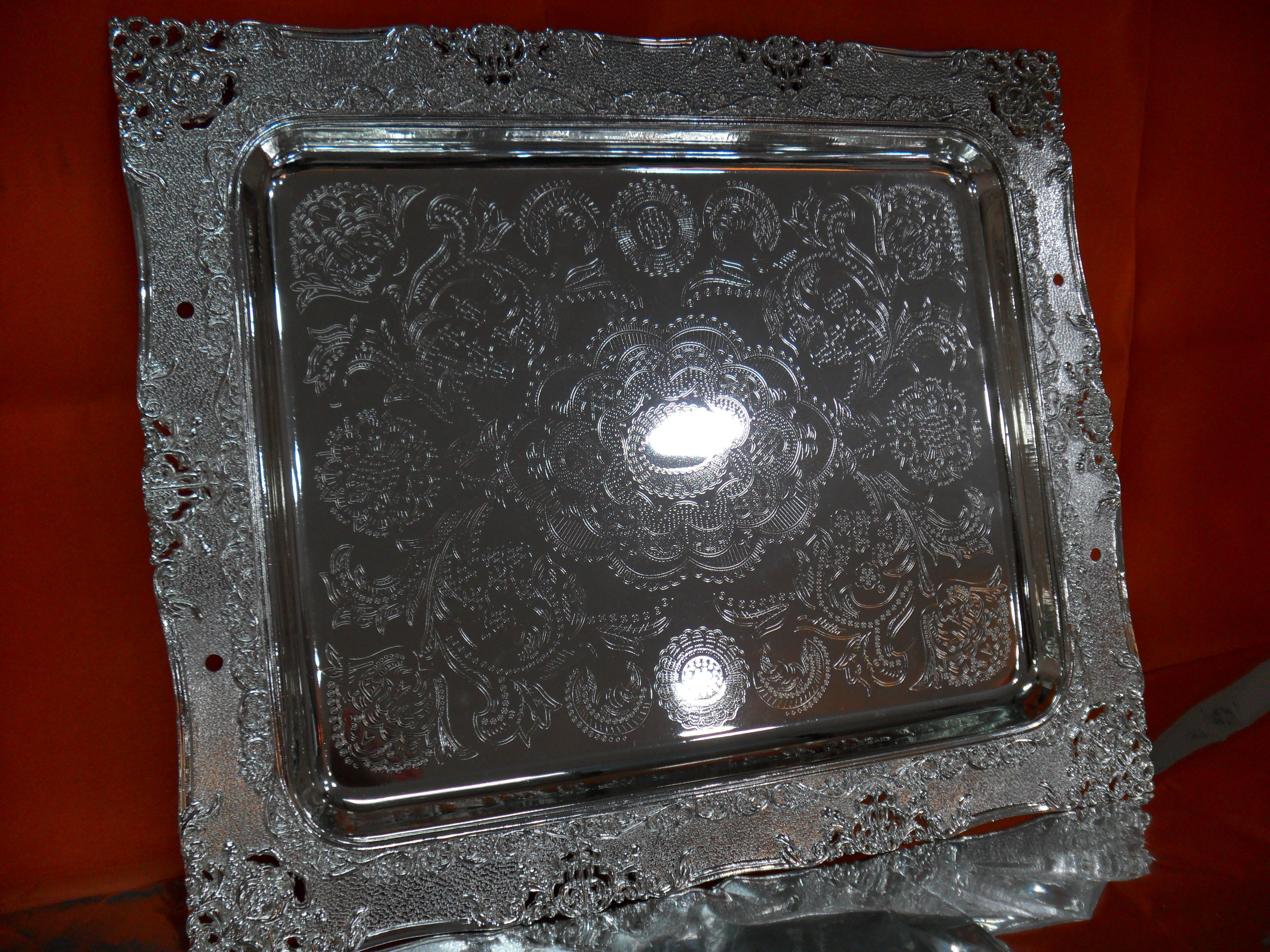 Hi Luxe Silver Plated Giftware 56753 18' F