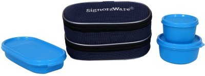 Signoraware 532 DOUBLE DÉCOR LUNCH BOX (WITH BAG) - 370 ml