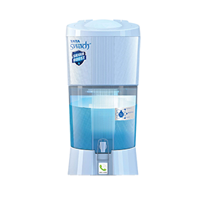 Tata Swach 27 Ltr Storage Water Purifier Silver Boost