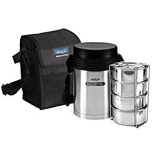 Milton Thermosteel Tuscany Container Lunch Box, Set of 4