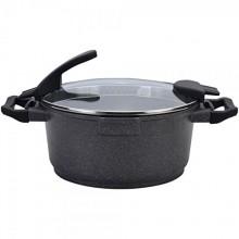 Wonderchef Easy Cook Die-Cast Aluminium Casserole with Lid, 20cm, Grey