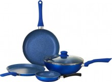 Wonderchef Royal Velvet Blue Set Of 4 Pcs