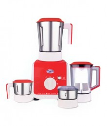 Ultra VARIO + RED Mixer Grinder Bright Red