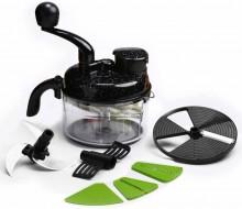 Wonderchef Black Plastic Turbo Dual Speed Food Processor
