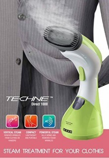 Usha Techne Direct 1000-Watts Garment Steamer (Green & White)
