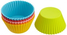 National ttm Silicon Muffin Cups 6 pieces set Size 2