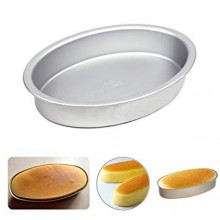 National ttm Oval Shaped aluminium Cake Mould Size No 3