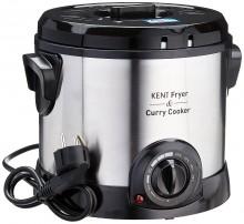 Kent Fryer & Curry Cooker 1.5 Ltr Deep Fryer Rice Cooker