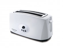 Morphy Richards Europa 4-Slice Pop-up Toaster (White)