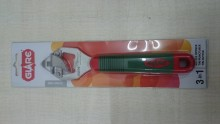 Glare 3 In 1 Bottle Opener Tin Puncturer And Tin Cutter