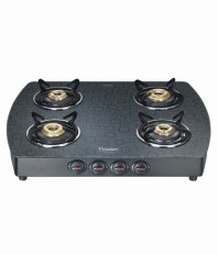Prestige Premia 4 Burner Glass Top GTS 04 (D)