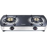 Prestige Premia 2 Burner Glass Top GTSM 02 SS