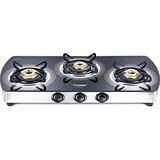 Prestige Premia 3 Burner Glass Top GTSM 03L SS