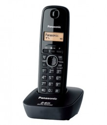 Panasonic Kx-Tg3411Sxh Cordless Landline Phone (Black)