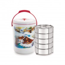Cello Mega Hot 5 Container Lunch Pack