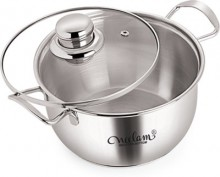 NEELAM Induction Bottom Conical Sauce 18 cm Pot Cookware Set