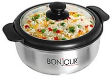 Bonjour Osim Casseroles with Glass Lid - 1200 ML
