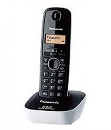 Panasonic Kxtg-3411SXW Cordless Landline Phone (Black & White)