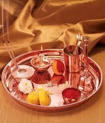 Borosil puja Thali Copper