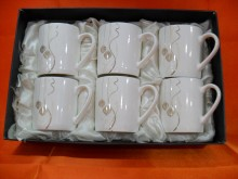 Hi Luxe Mug Set 6 Pc