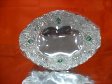 Hi Luxe Silver Plated Giftware 585701-1