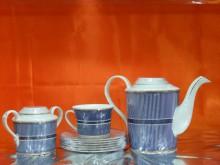 Hi Luxe Feather Tea Set