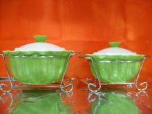 Hi Luxe Rio Casserole 2 Pc ( Green )